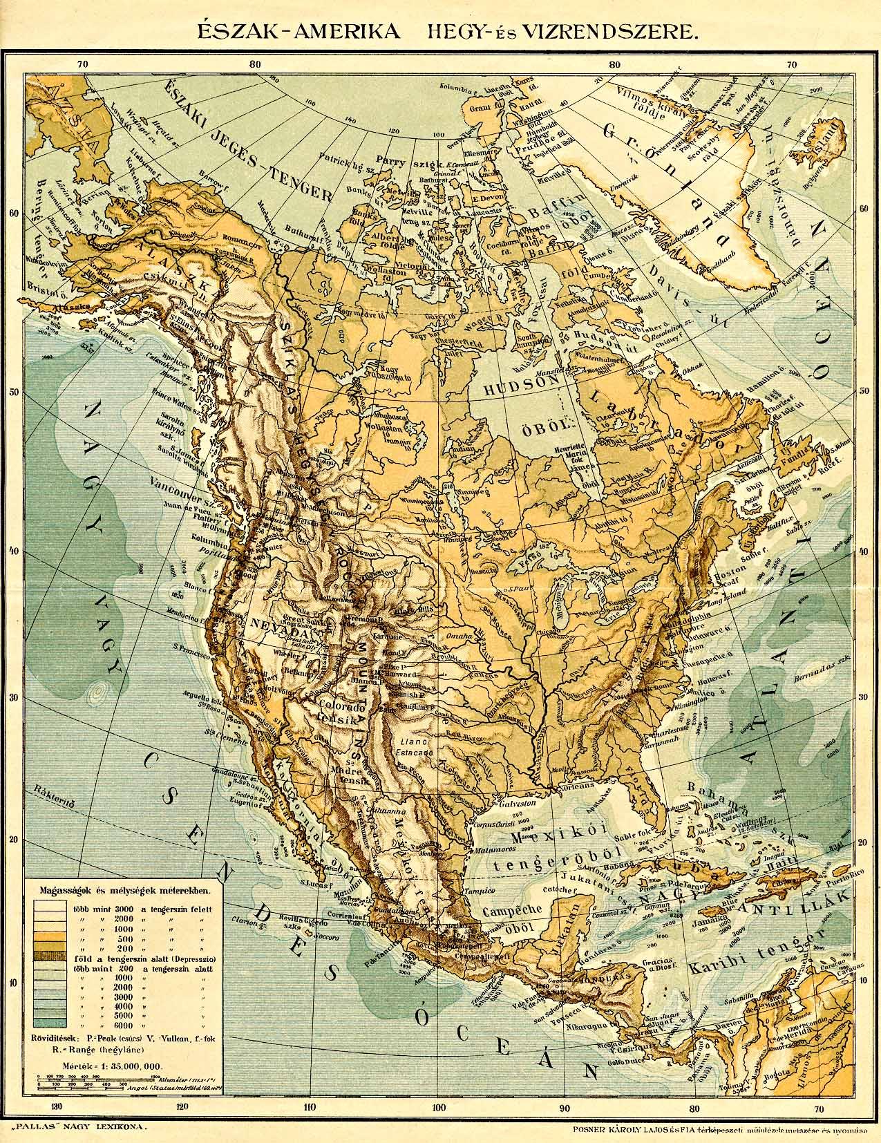 amerika felfedezése térkép A Pallas nagy lexikona amerika felfedezése térkép