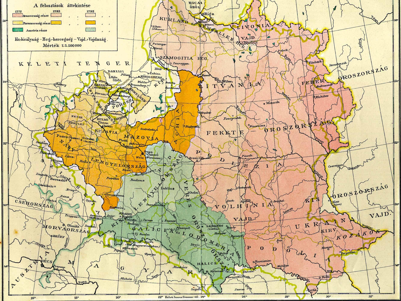 Lengyelország felosztása 1772