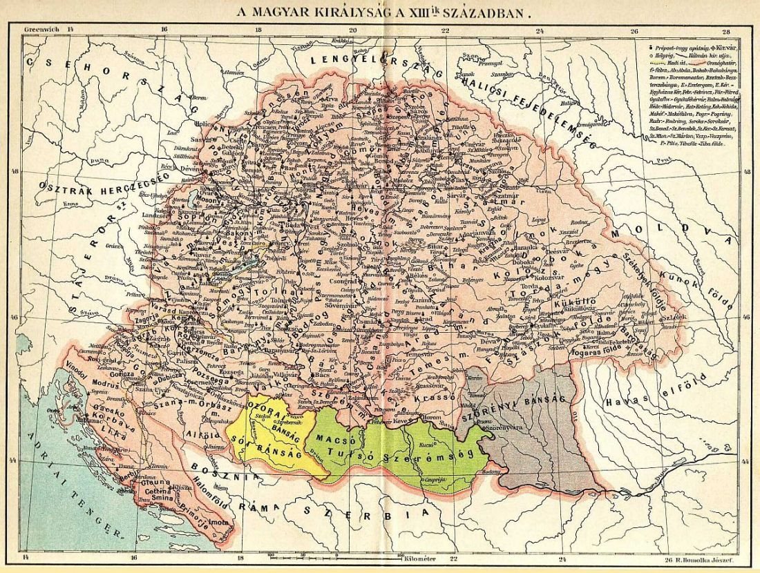 királyi magyarország térkép A Magyar Nemzet Története királyi magyarország térkép