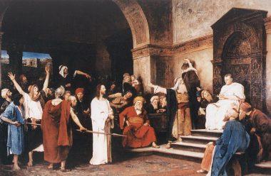 Jézus Pilátus előtt
