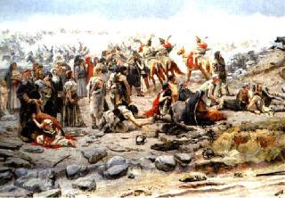 Szláv hadifoglyok (Árpád győzelme - részlet)