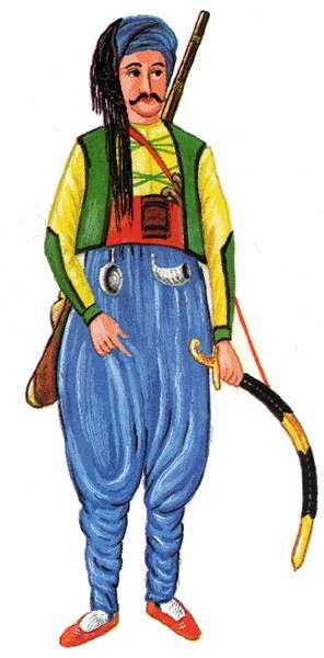 Janicsár öltözet