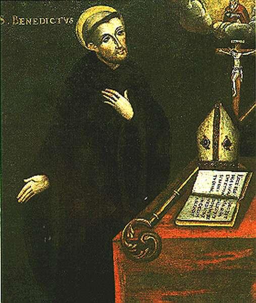 Nursiai Szent Benedek