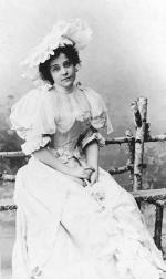 Török Irma – színésznő. A Nemzeti Színház örökös tagja. Ismeretlen szerepben. 1897.