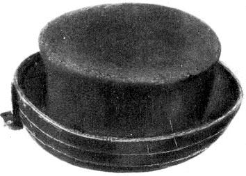 Felhajtott peremű kalap (Felföld) – Cilinder alakú kalap (Szentgál ca145ea3e4