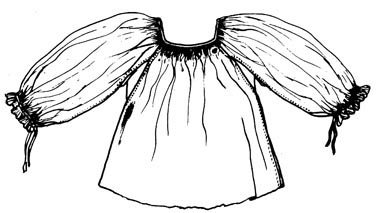 9ebb687f8a Mellé varrott ujjú ing (Nógrád m.) Bp. Néprajzi Múzeum