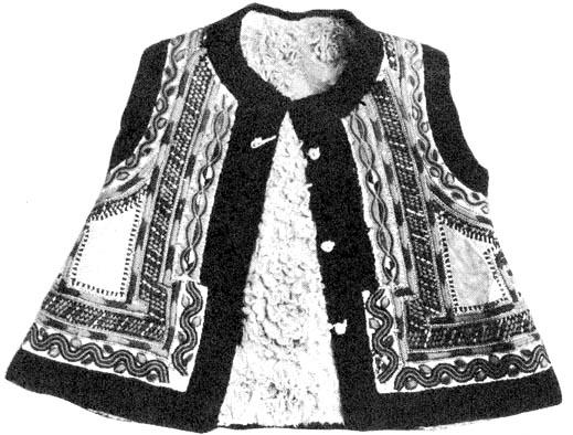 59ff5a2482 Női melles bunda eleje (Lészped, Moldva)