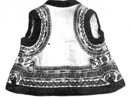 4f33dc48de Női melles bunda hátulja (Lészped, Moldva)