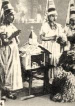 4. Matyó betlehemes lányok (Borsod megye)