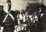 5. Bukovinai székelyek csobánolása (Király, királyszolga és a család) 1970, Kéty, Tolna m.)