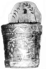 Fali kéregsótartó (Kisbacon, v. Udvarhely m., 1820 körül)