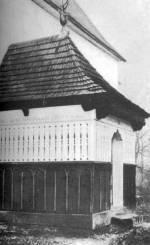 A zsípi ref. templom pitvara