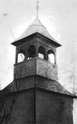 A zsípi ref. templom harangtornya