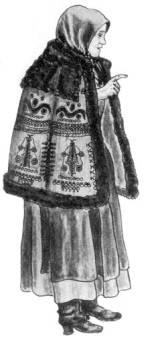 Asszony kisbundában (Karcag, Szolnok m., 20. sz. eleje)