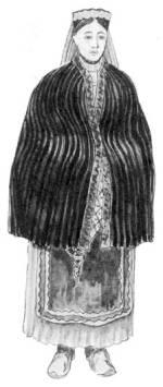 Leány palástban (Torockó, v. Torda-Aranyos m., 1821)