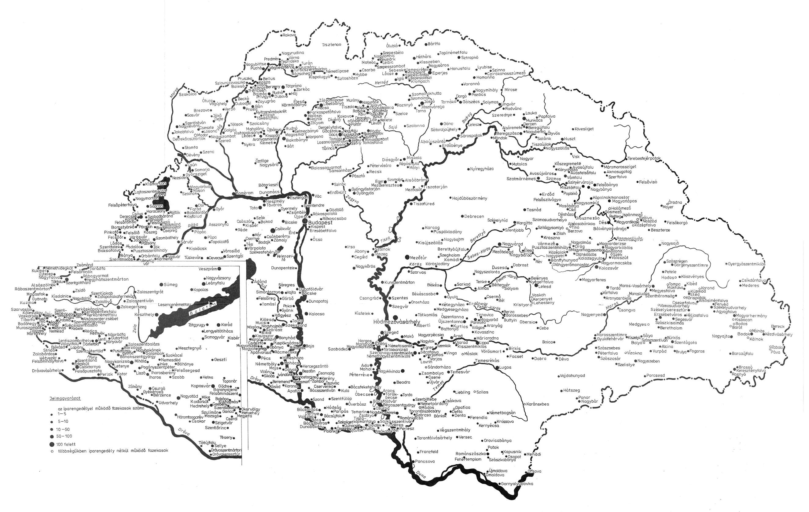 középkori magyarország térkép Magyar Néprajz III. Anyagi kultúra 2. Kézművesség / AGYAGMŰVESSÉG középkori magyarország térkép