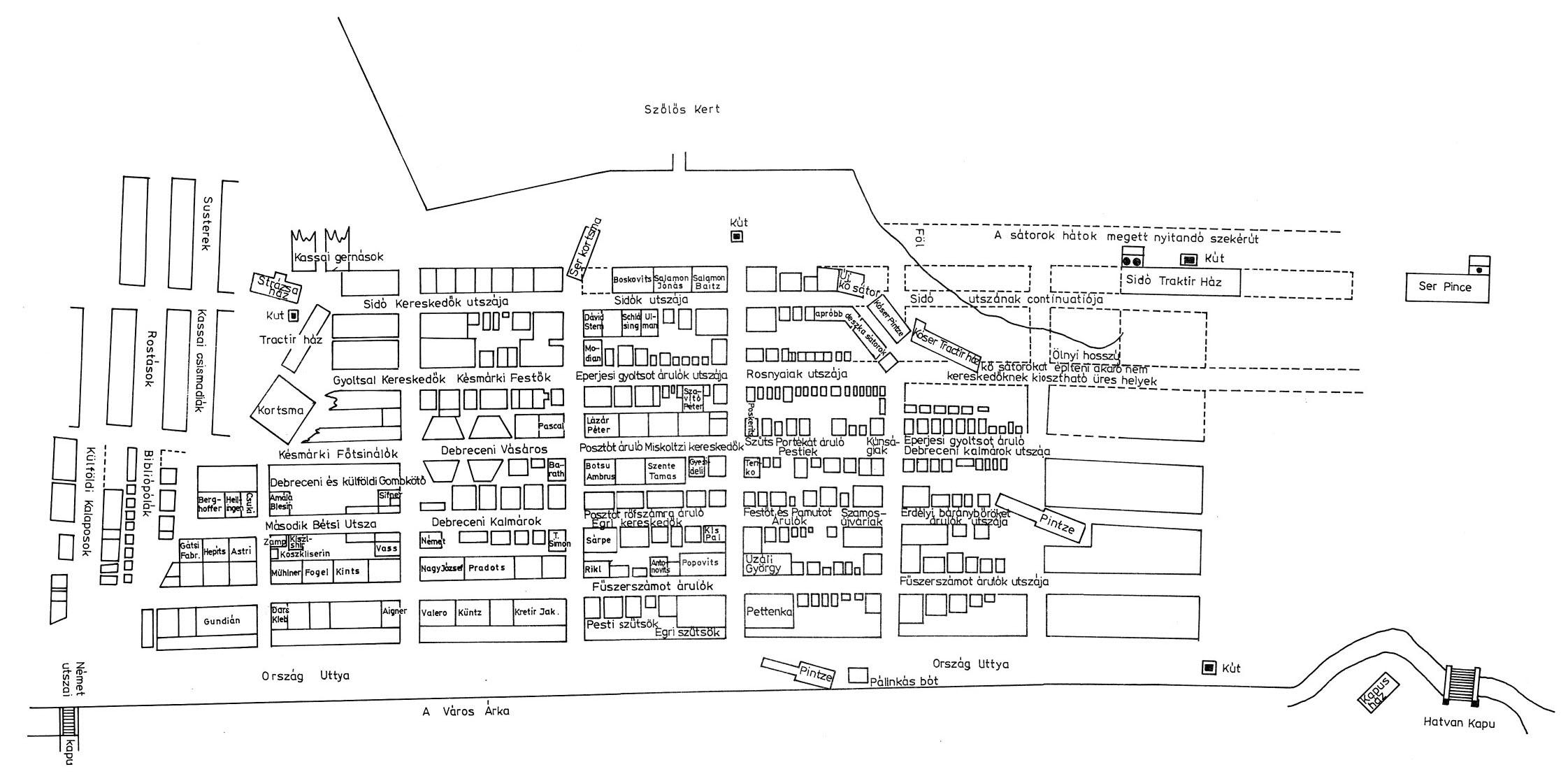 budapest nagybani piac térkép Magyar Néprajz III. Anyagi kultúra 2. Kézművesség / A MAGYAR  budapest nagybani piac térkép