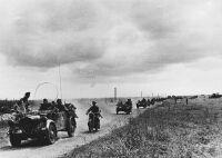 Gépkocsizó gyalogság a doni harctéren, 1942