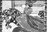 """""""Caroussel""""-kerámiakép, Rippl-Rónai József, """"Bois laboratorium"""" (Párizs, 1897)"""