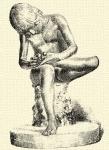 769. Tövishuzó fiú (Roma, Pal. dei Conservatori).