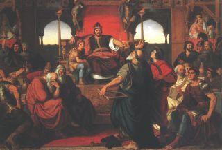 Attila lakomája (1870) Nagyítható kép