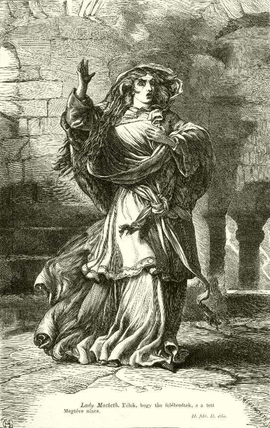 guilt in lady macbeth by william shakespeare Lady macbeth also later instructs macbeth to look like the innocent flower, but be the serpent under't (shakespeare 15) her statement serves as an allusion to the bible, and herbert r coursen jr follows this comparison throughout the plot of macbeth , where he sees lady macbeth as the serpent, macbeth as eve, and the throne of.