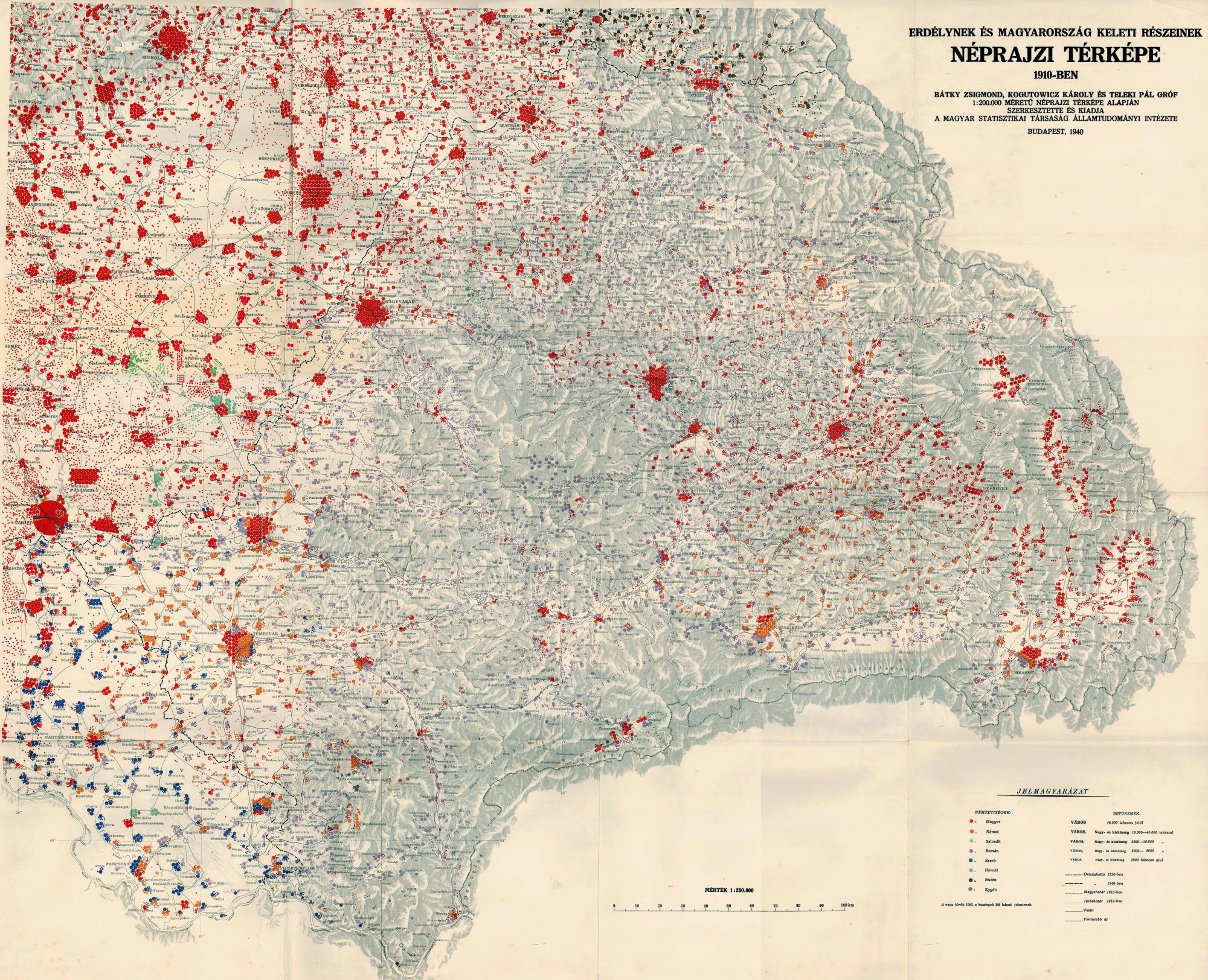 magyarország térkép 1940 Erdély / magyarország térkép 1940