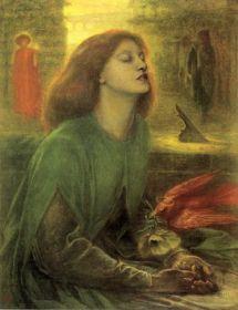Dante Gabriel Rossetti Beatrix 1863 MVSZETTRTNETI HTTR A Preraffaelitk