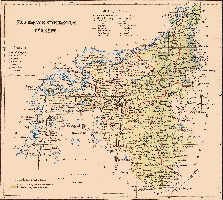 ibrány térkép Borovszky   Magyarország vármegyéi és városai ibrány térkép