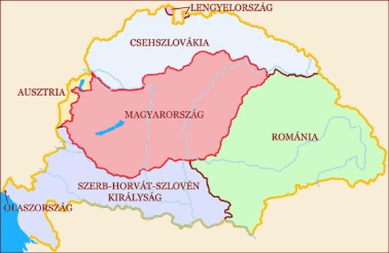 régi magyarország térkép trianon HALASSY BÉLA: MIÉRT ÉPPEN EZ A TRIANON? régi magyarország térkép trianon
