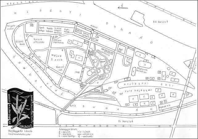 hajógyári sziget térkép Óbudai sziget hajógyári sziget térkép