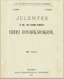 Jelentés az 1886-1889. években felmerült erdei rovarkárokról  című e-könyv ingyenes letöltése vagy megtekintése