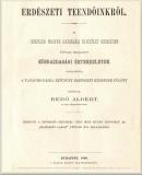 Bedő Albert: Erdészeti teendőinkről