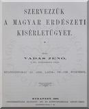 Vadas Jenő: Szervezzük a magyar erdészeti kisérletügyet  című e-könyv ingyenes letöltése vagy megtekintése