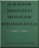 Kolossváry Szabolcsné: A magyar erdészeti irodalom bibliográfiája, 1945-1965