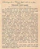 Tomcsányi Gusztáv: Tölgymakk telelő kunyhó