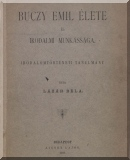 Lázár Béla: Buczy Emil élete és irodalmi munkássága