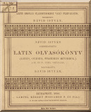Livius, Titus - Ovidius, Naso, Publius - Phaedrus: Latin olvasókönyv (Livius, Ovidius, Phaedrus műveiből) a III. és IV. gymnas. osztályra
