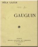 Lázár Béla: Gauguin
