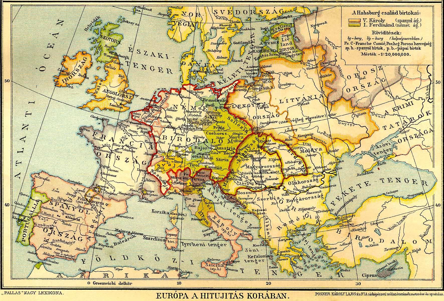 Kozepkori Europa Terkep Marlpoint