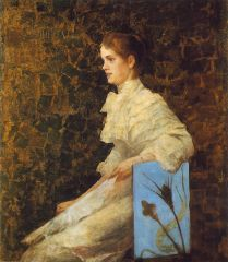Thorma János: Bilcz Irén képmása - 1892 (Nagyítható kép)