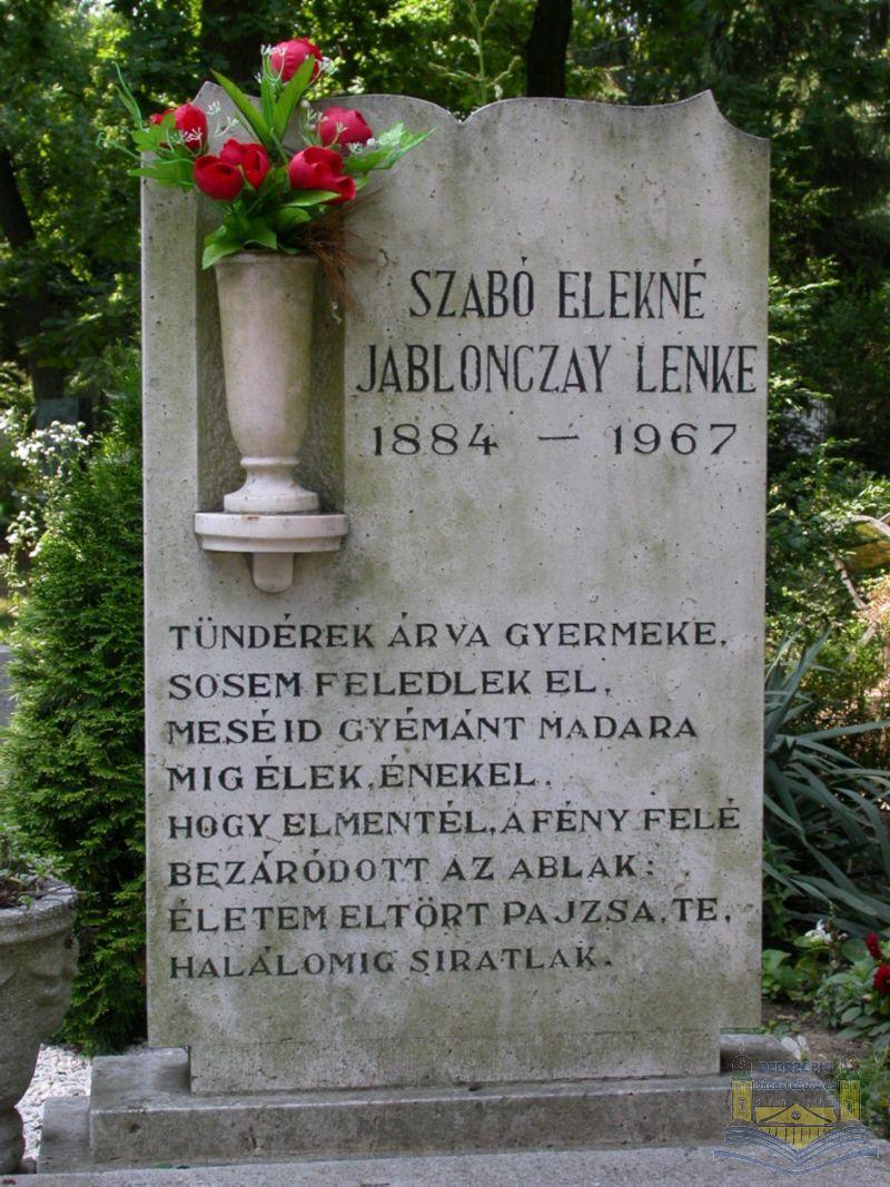idézetek síremlékre Szabó Magda virtuális kiállítás
